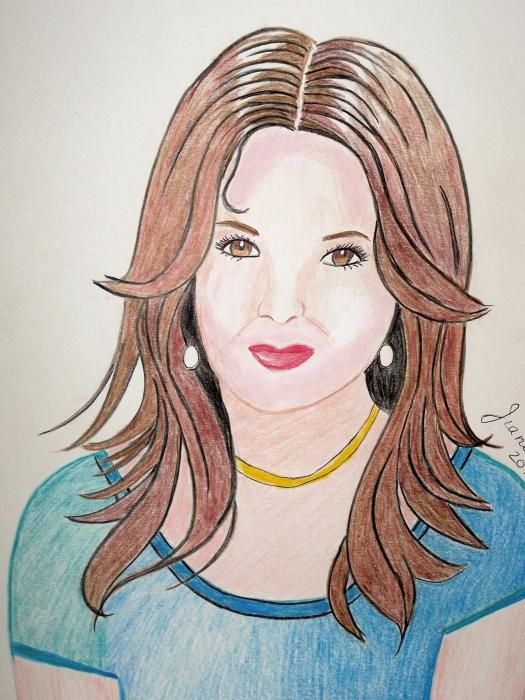 Katie Holmes por Jeanette